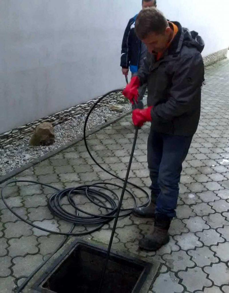 Vysokotlakové krtkovanie - čistenie upchatej kanalizácie na Východnom Slovensku za najlepšie ceny