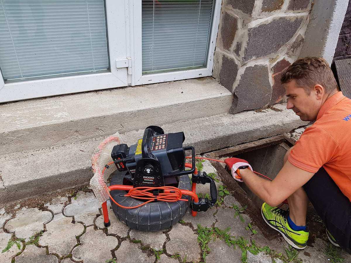 Monitoring kanalizácie - kamerová kontrola potrubí - Košice / Michalovce / Trebišov / Prešov / Humenné / Svidník / Vranov nad Topľou