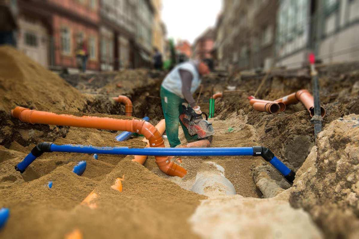 Oprava potrubia kanalizácie - Košice / Michalovce / Trebišov / Prešov / Humenné / Svidník / Vranov nad Topľou